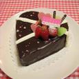Valentine☆チョコレートムースケーキ
