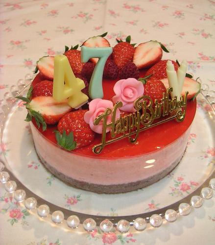 母のバースディケーキ