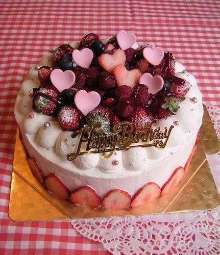 ベリーのBirthdayケーキ