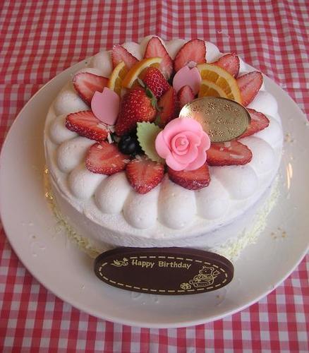 春ちゃんのバースディケーキ
