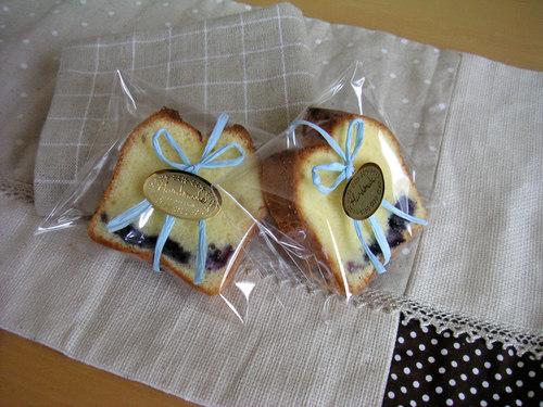 パウンドケーキ・バラ