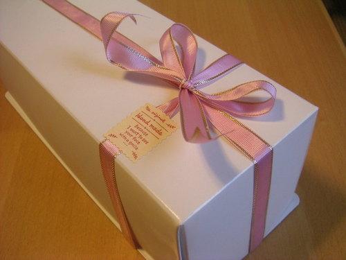 ロールケーキのラッピング・箱