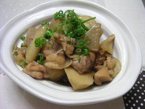 鶏肉と里芋の中華煮
