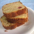 イチゴのマーブル(?)パウンドケーキ