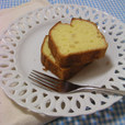 レモンのふわふわケーキ