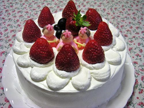 ひな祭り★いちごのショートケーキ