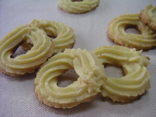 オレンジ風味のクリームチーズクッキー