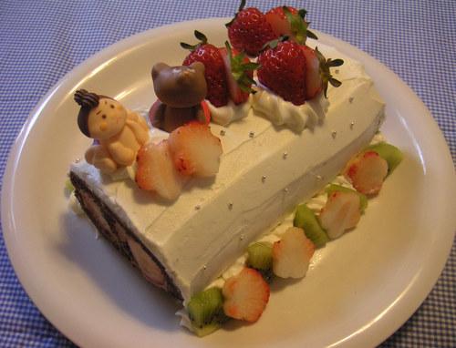 こどもの日!?ミニ・ロールケーキ