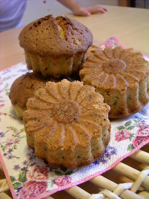 紅茶とオレンジのバターケーキ